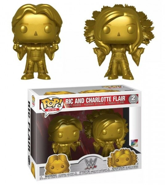 Funko POP! 2 Pack WWE Ric & Charlotte Flair
