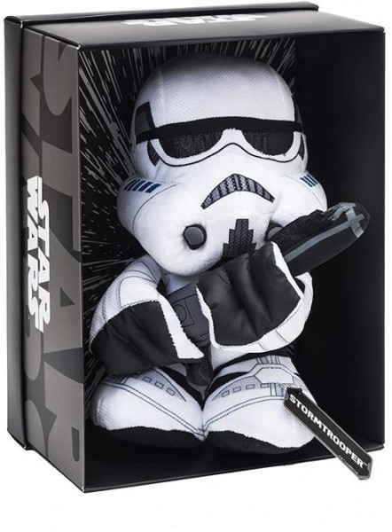 Disney Star Wars Plüsch Stormtrooper Black Line in luxuriöser Displaybox 25cm