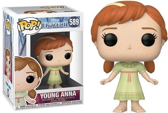 Funko 40889 POP Disney: Frozen 2-Young Anna