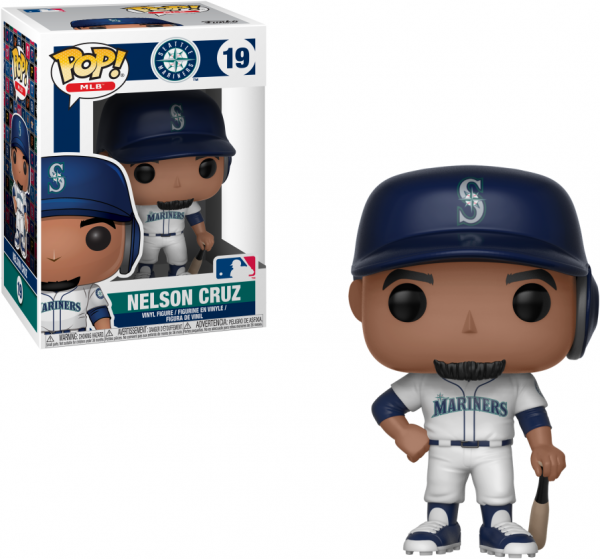 Funko POP! Major League Baseball Figure Nelson Cruz