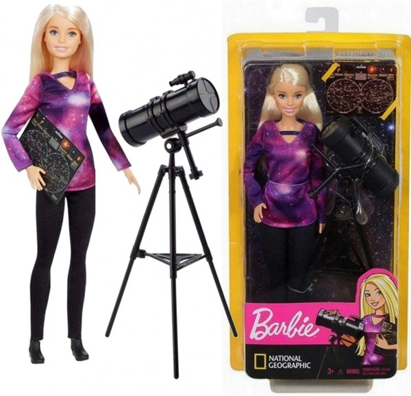 Barbie National Geographic Puppe Astrophysikerin