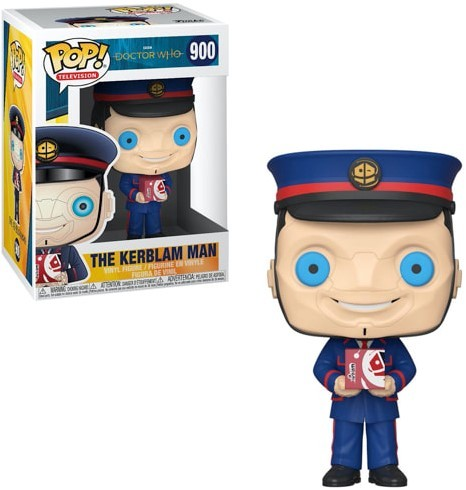 POP! Doctor Who the Kerblam Man 43352