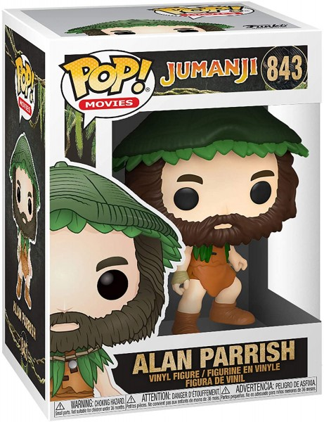 Funko POP! Movies: Jumanji - Alan Parrish
